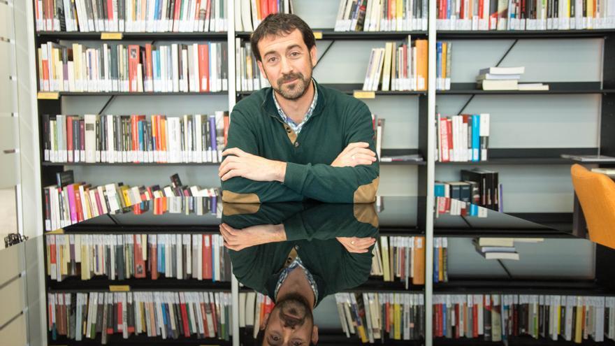 Álvaro Baraibar, director general de Paz, Convivencia y Derechos Humanos del Gobierno de Navarra
