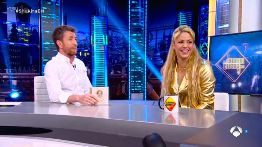 Shakira en 'El Hormiguero'