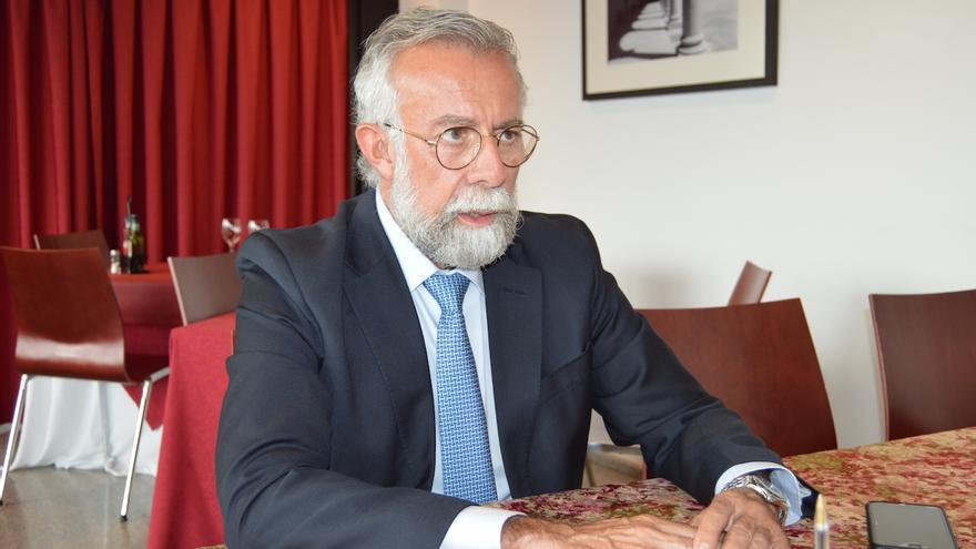 Jaime Ramos durante la entrevista FOTO: Ayuntamiento de Talavera