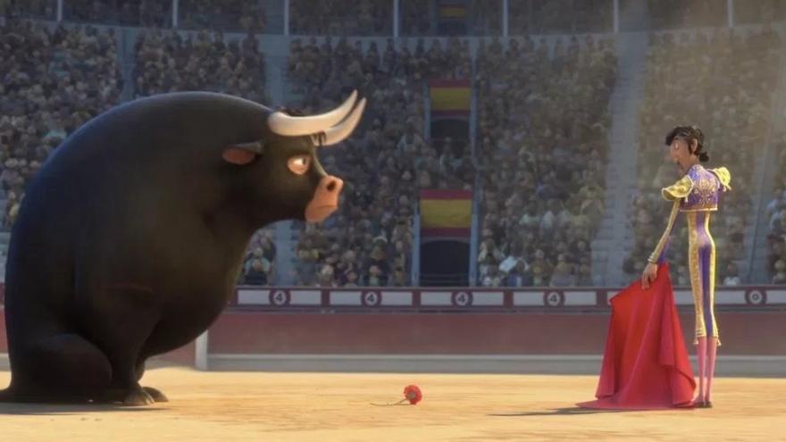 Fotograma de la película Ferdinand