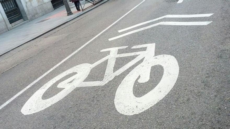 Ciclocarril en una calle de Madrid | SOMOS CHAMBERÍ