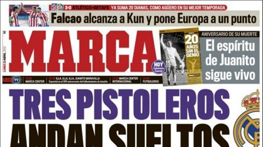 De las portadas del día (02/04/2012) #12