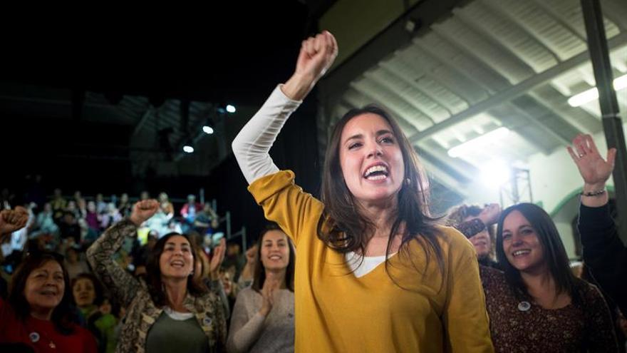 Montero: Hay que parar a los trillizos reaccionarios en la calle y las urnas