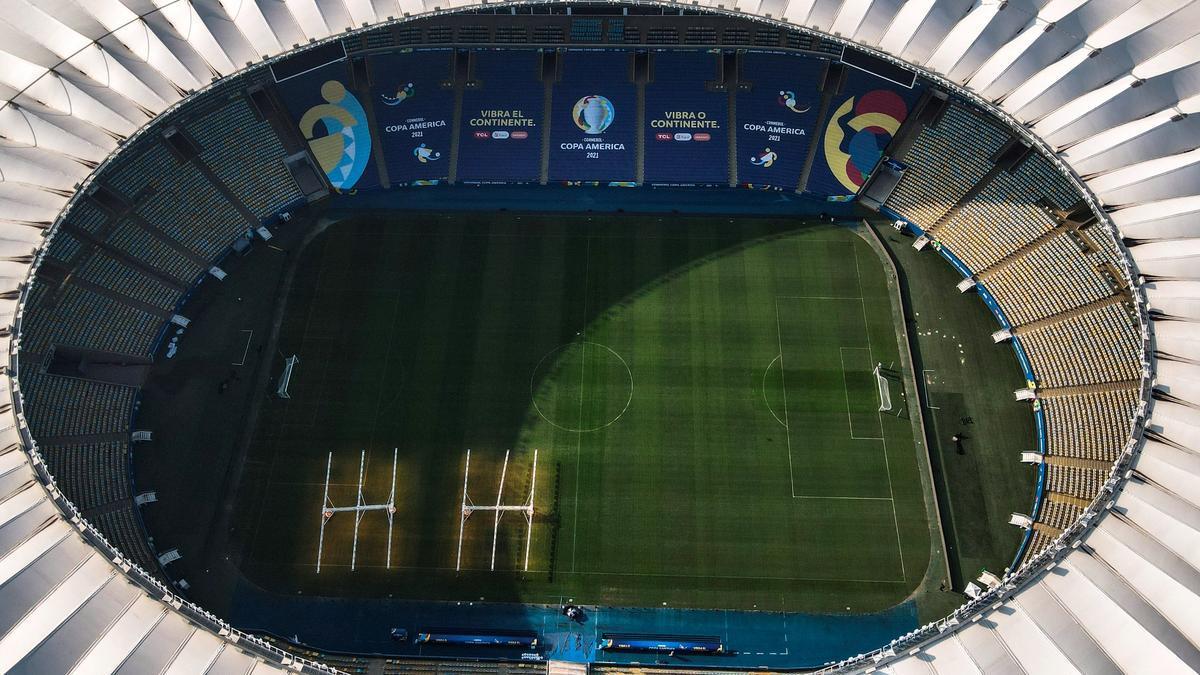 El Maracaná recibirá a Brasil y Argentina en la final de la Copa América