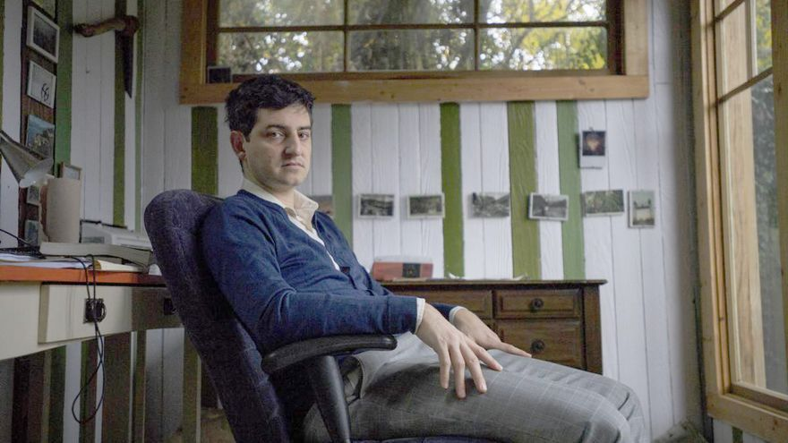 Nathaniel Rich, autor de 'Perdiendo la tierra'.