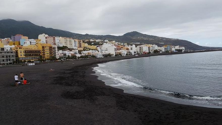 Imagen de la playa de Santa Cruz de La Palma.