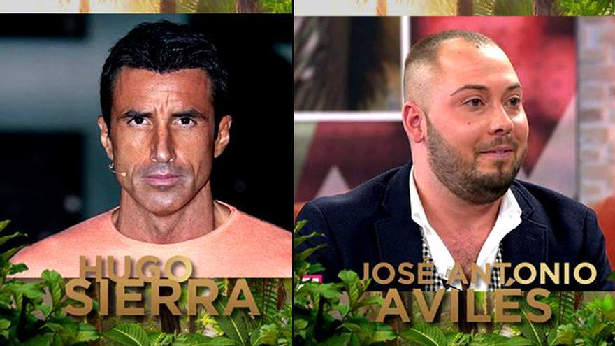 Hugo Sierra y José Antonio Avilés, a 'Supervivientes 2020'
