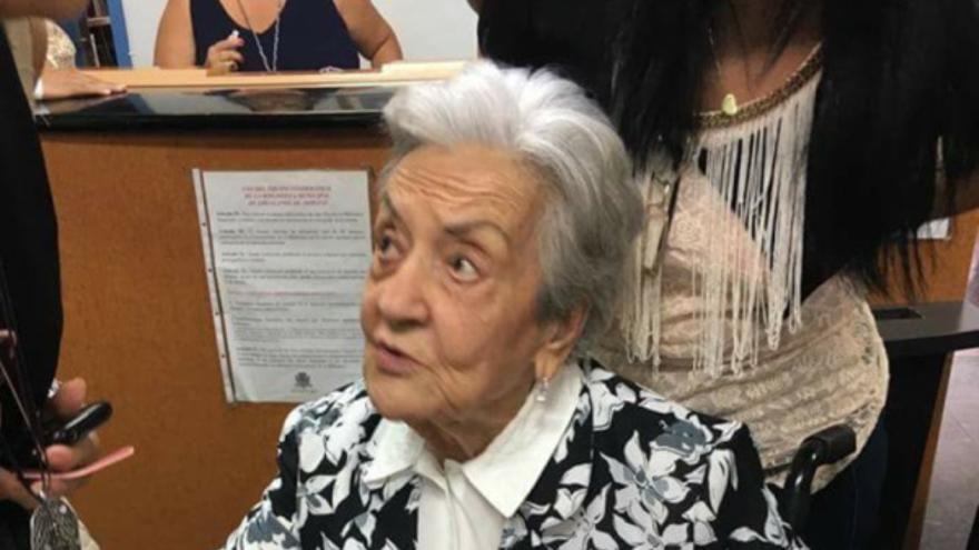 María Nieves Pérez.