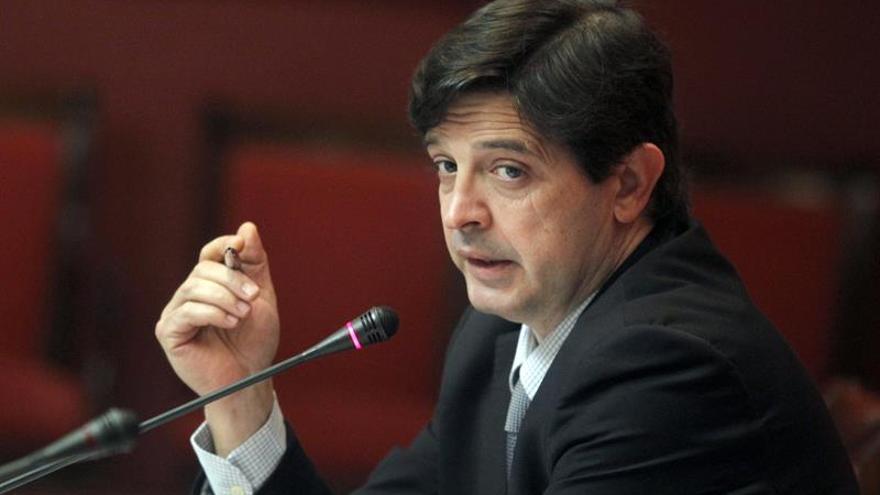 El consejero de Economía y Hacienda del Gobierno de Canarias, Javier González Ortiz. Cristóbal García/EFE