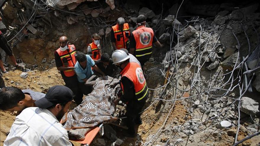 85 cadáveres recuperados bajo los escombros en Gaza eleva a 985 cifra muertos