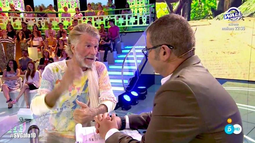 Bigote se sincera con Jorge Javier sobre su comportamiento en Supervivientes
