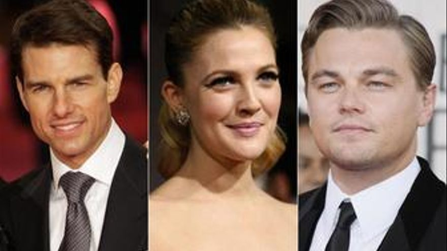 Cruise Barrymore DiCaprio