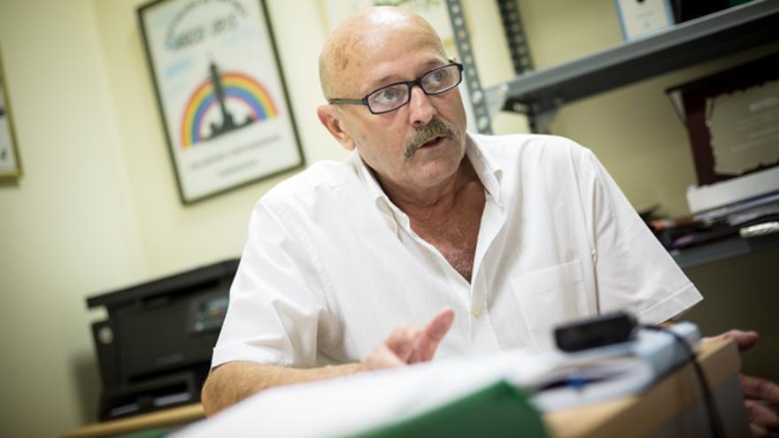 Miguel Ángel Bernal, delegado de Stop Accidentes Aragón.