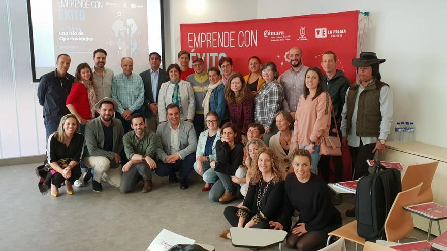 Participantes en la jornadas 'Emprende con éxito'.