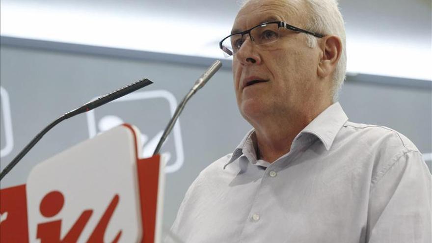 Cayo Lara evita pronunciarse sobre la ausencia de dimisiones en IU Madrid