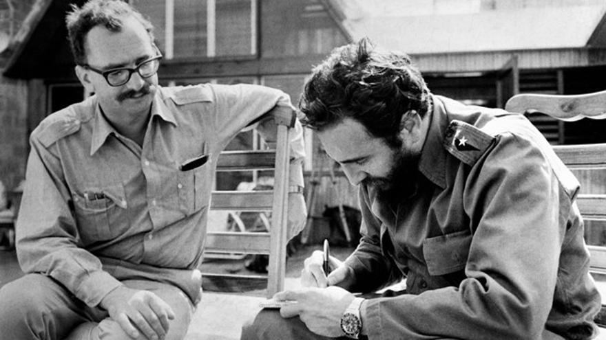 Giangiacomo Feltrinelli y Fidel Castro