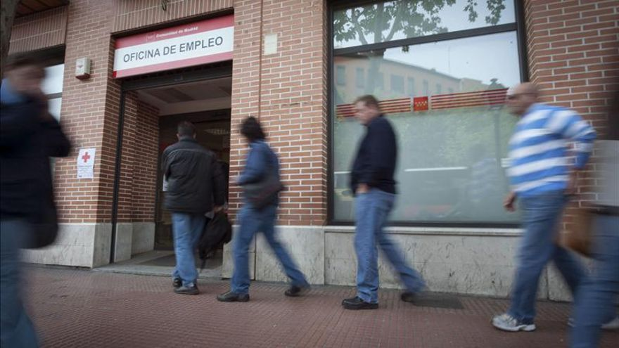 Una oficina del INEM de la Comunidad de Madrid