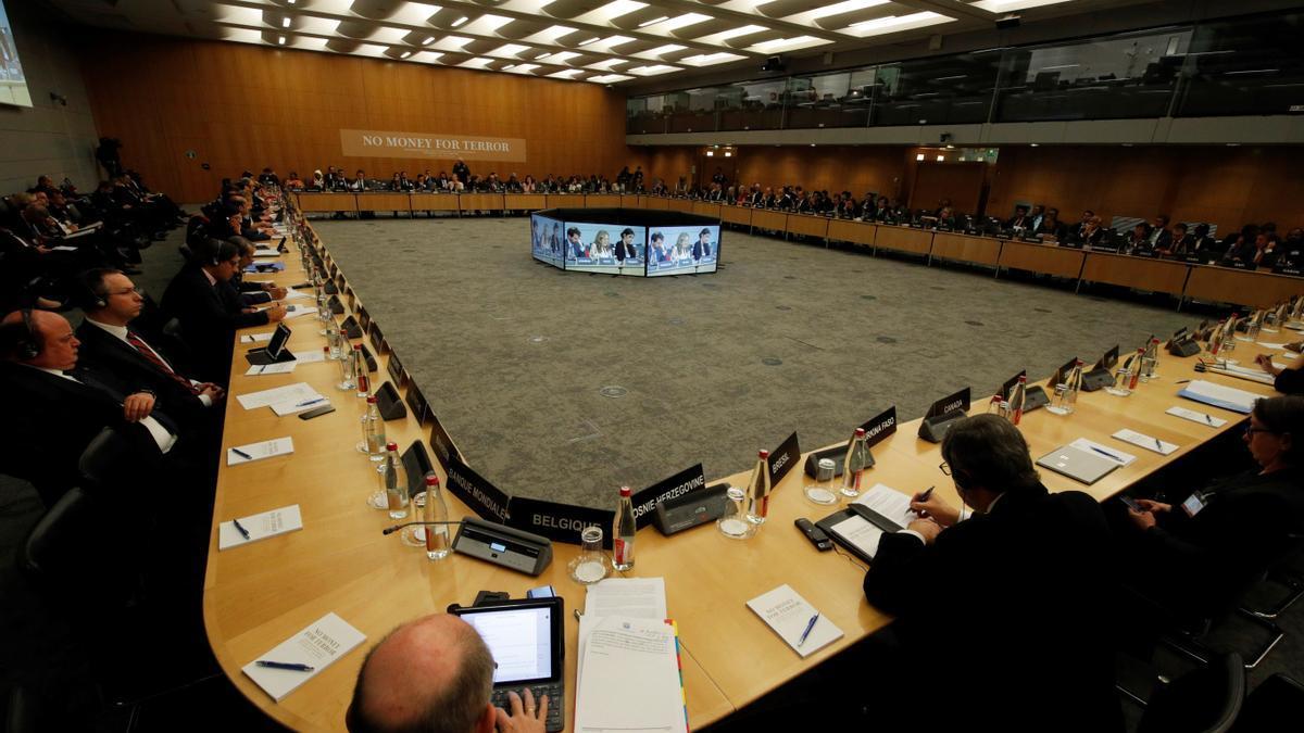 La sede de la OCDE en París, en una imagen de archivo. EFE/ Philippe Wojazer/Archivo