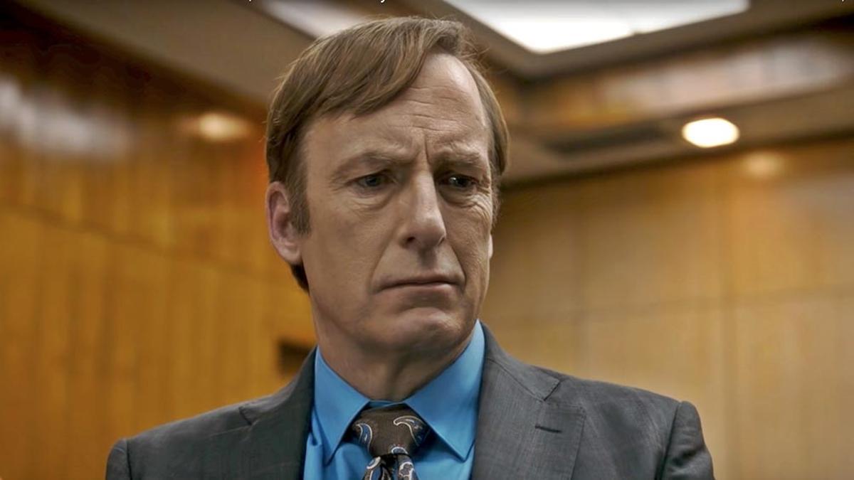 "Bob Odenkirk, protagonista de la serie ""Better Call Saul""."