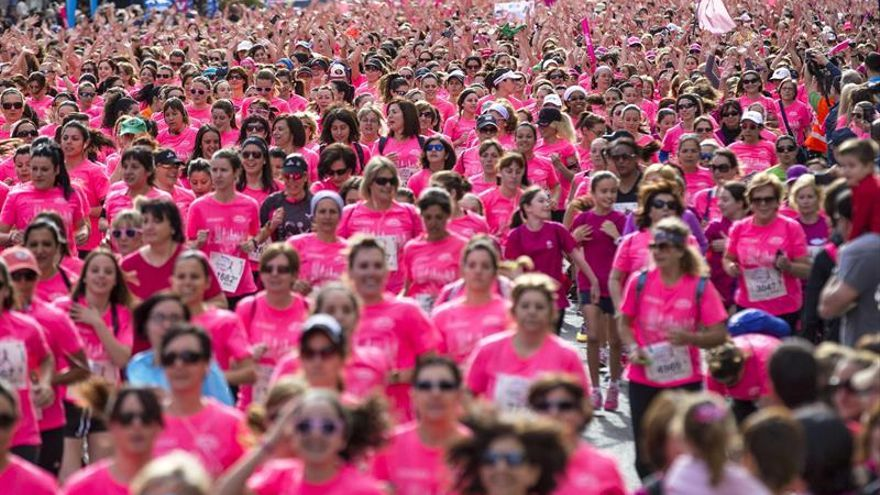 Una carrera popular contra el cáncer de mama