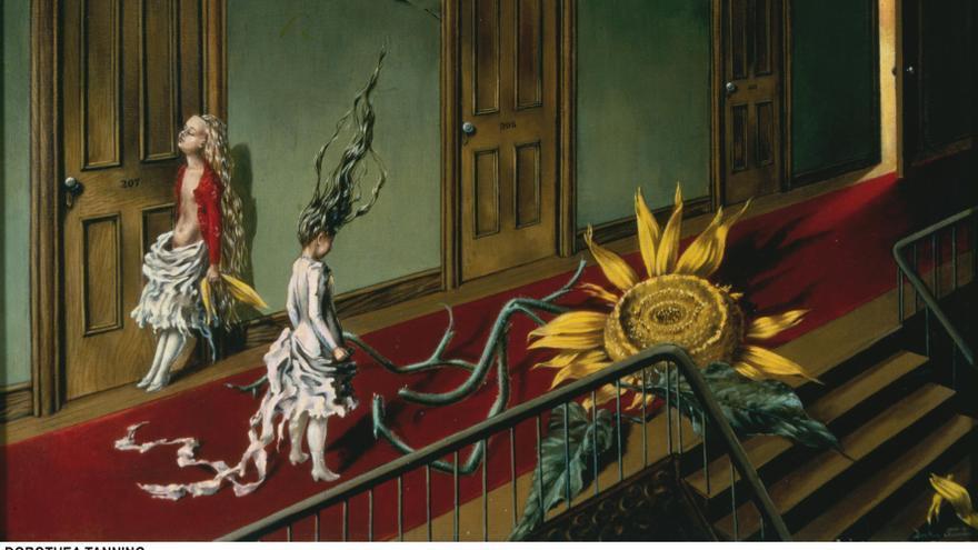 'Eine Kleine Nachtmusik', Dorothea Tanning/ Cedidas por el Museo Reina Sofía