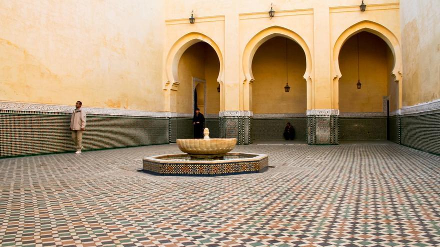Interior del Mausoleo de Moulay Ismaíl, en Mequínez. VIAJAR AHORA