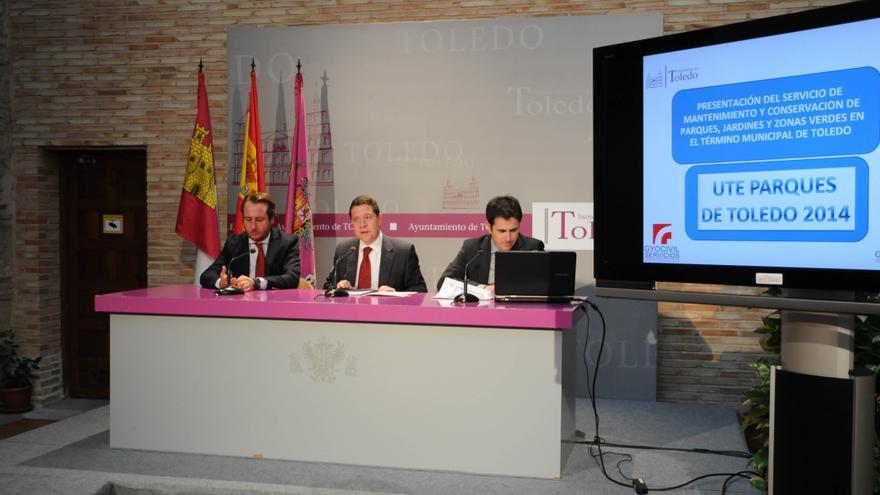 Presentación del contrato de parques y jardines, Toledo / Foto: Ayuntamiento