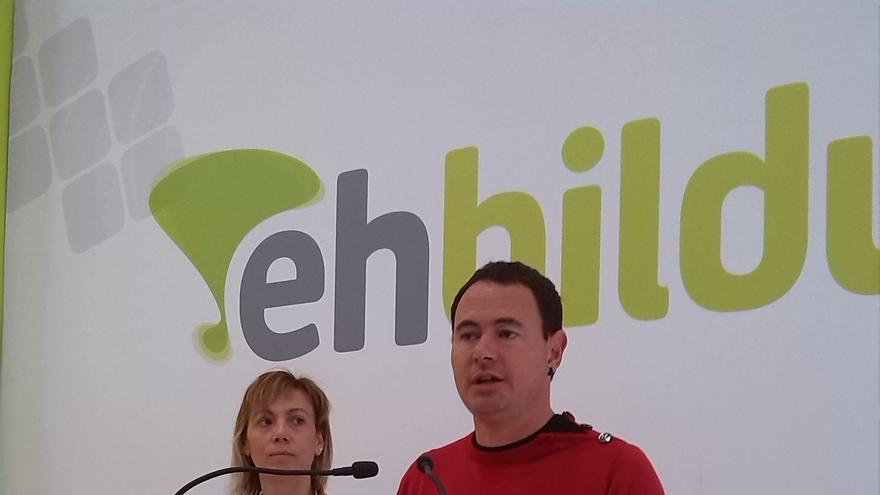 """EH Bildu no descarta apoyar al candidato de otro partido para """"desalojar al PP"""" de la Alcaldía de Vitoria"""