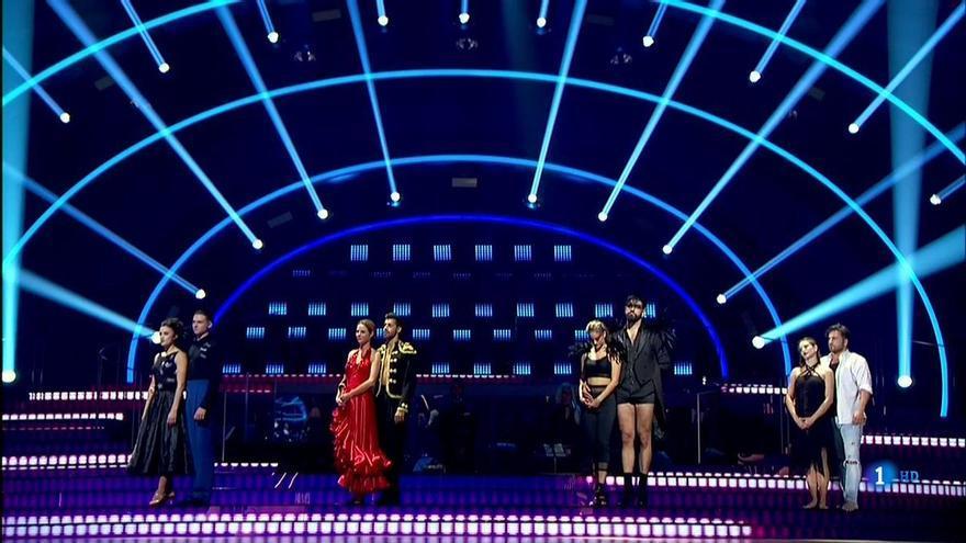 Bustamante, Manu Sánchez y Patry Jordan, finalistas de Bailando con las estrellas