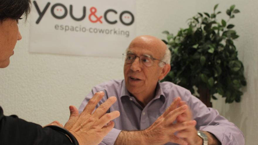 José Ignacio Gras (PSOE) cree que puede darse el cambio político en el ayuntamiento de Murcia / PSS