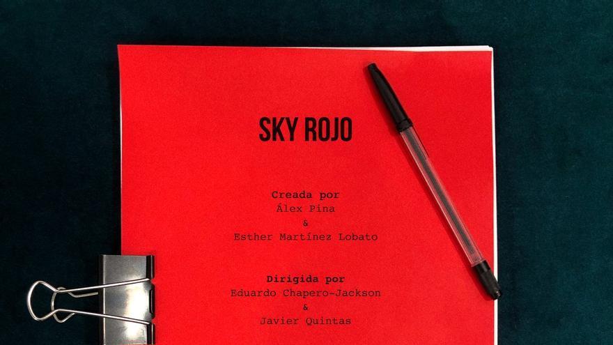 Cartel de Sky Rojo de Netflix.
