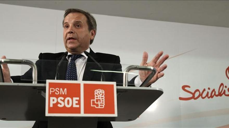 Antonio Miguel Carmona, portavoz del PSOE en el Ayuntamiento de Madrid.