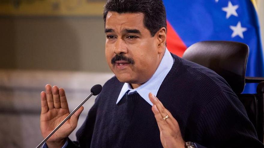 """Maduro afirma que su país vive una de """"las peores"""" amenazas en 10 años"""