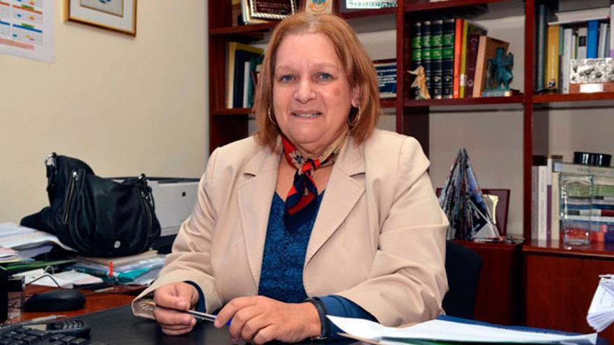 Fidela Velázquez, alcaldesa socialista de San Juan de la Rambla