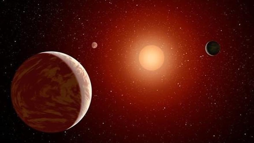 Calar Alto detecta con 'Carmenes' un exoplaneta con masa parecida a la de Neptuno sin superficie y con estrella