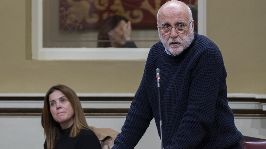 El diputado de Podemos Manuel Marrero.