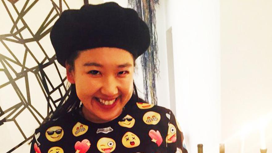 La diseñadora Yiying Lu, una gran amante de los 'emojis'