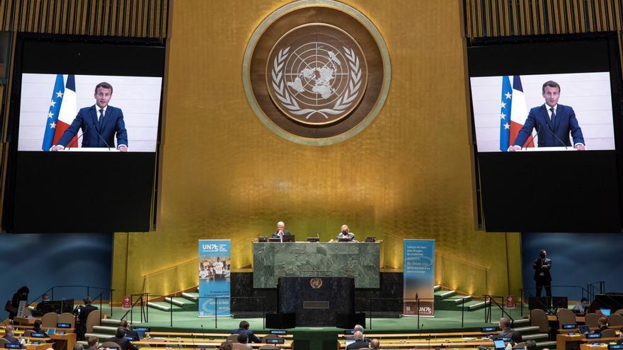75ª sesión de la Asamblea General de la ONU.