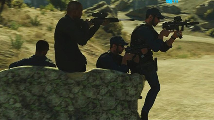 Battlefield Hardline sofá-tanque