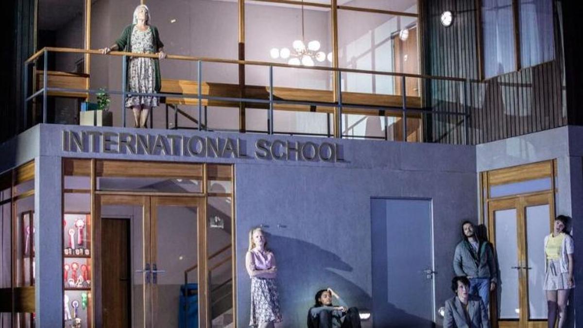"""Una escena de la ópera """"Innocence, estrenada el 3 de julio en el Festival Aix-en-Provence"""
