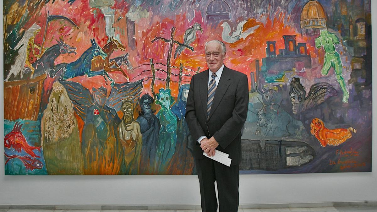 El Museo de Bellas Artes de Badajoz homenajea al pintor Francisco Pedraja