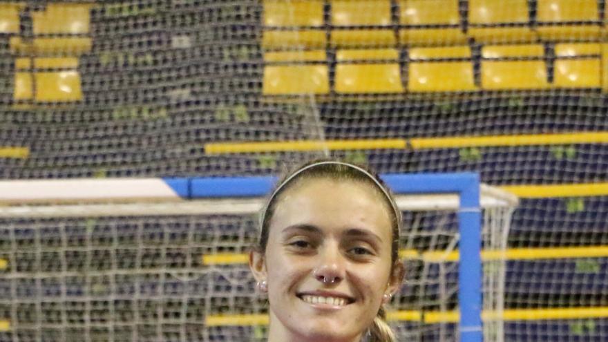 Saray Manzano, jugadora del IBSA.