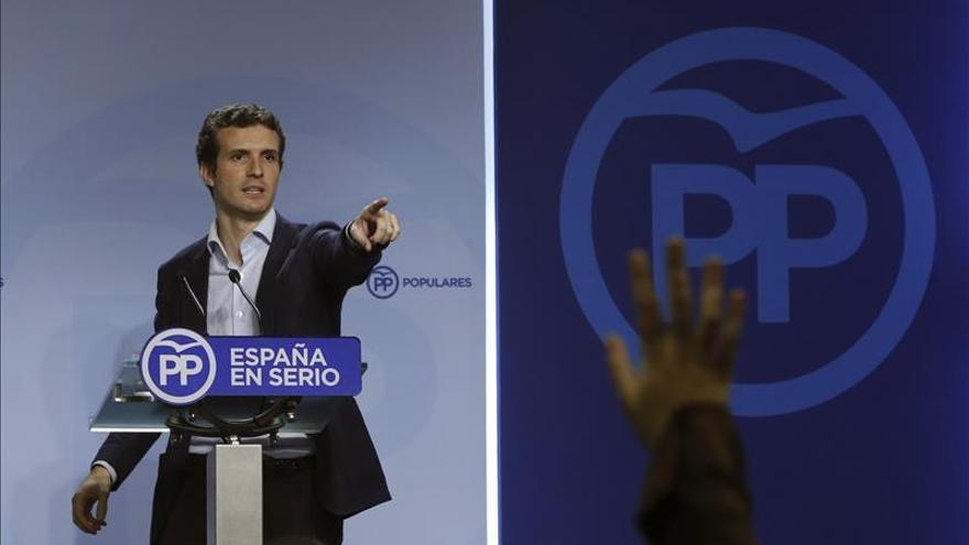 """El PP admite que coincide con Ciudadanos en """"lo esencial"""" aunque difiera en el programa"""