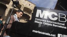 Un pianista del campo sirio de refugiados de Yarmouk llena Barcelona de música