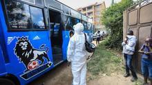Los contagios de coronavirus detectados en África pasan de 147 a 769, una cifra muy por debajo del gran foco europeo