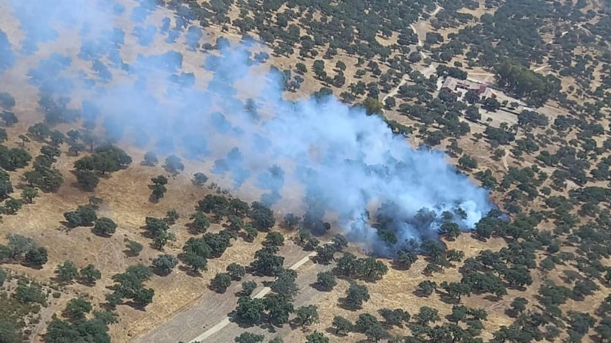 Incendio en Hornachuelos.