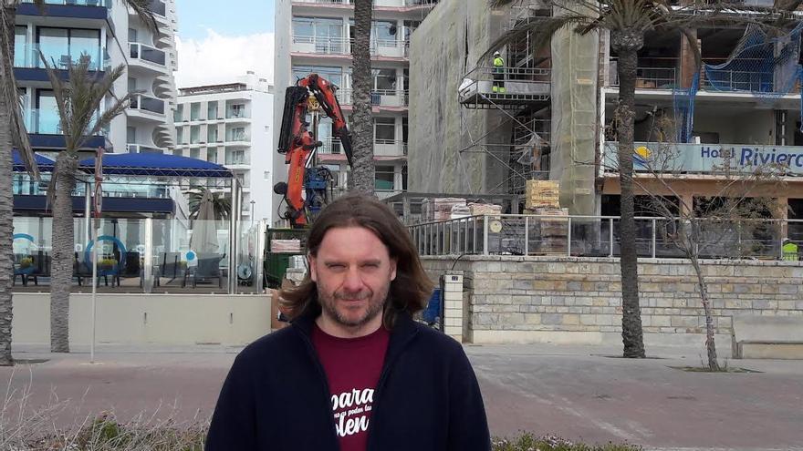 Joaquín Valdivielso, de la asociación Terraferida.