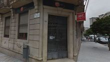 Sede del sindicato UGT en Vigo.