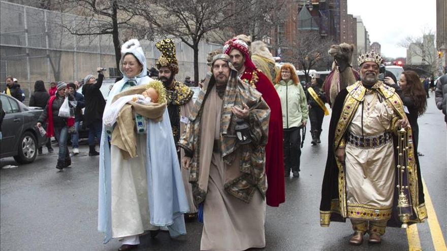 Los Reyes Magos, preferidos por los niños sobre Papa Noel, según una encuesta