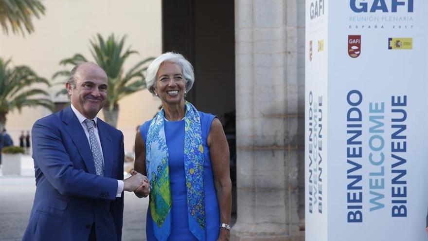 Lagarde señala la corrupción y la evasión fiscal como los grandes desafíos de la economía